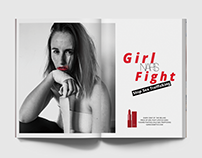 NARS Girl Fight Advertisement