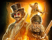 THUGS OF HINDOSTAN EXCLUSIVE IMAX ART
