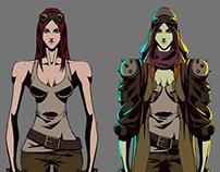 Future War character design