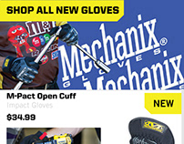 Mechanix Wear Email Concept Design