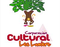 Logosimbol Design Corporacion Cultural LesLumiere