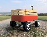 """Mini """"Red"""" Wagon"""