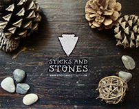 Sticks and Stones- a Brand Identity Project
