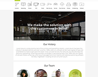 Spectracom Group Web Redesign