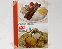 Kolkata Cuisine illustration