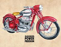 Moto - Jawa 500