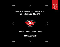 Turkish Airlines SC VT's Social Media Branding