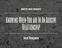 Knowing When You Are In An Abusive Relationship
