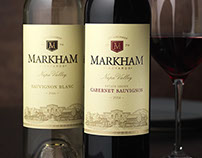 Markham Wine Label & Packaging