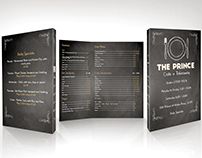 The Prince - Menu design