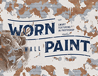 Worn Wall Paint Texturing
