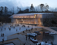 Harbour / Museum competition winner Helen & Hard