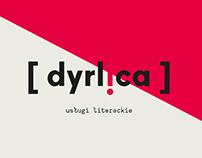 DYRLICA • literary services  ·  branding