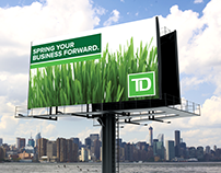 TD Bank Spring Campaign