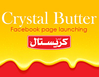 Crystal Butter Facebook Page Launching