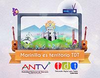 Paquete Gráfico Lanzamiento TDT en Antioquia