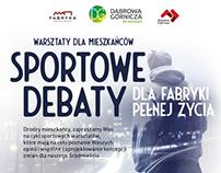 Sports debates / poster