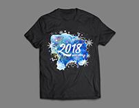 New Year T-Shirt Design
