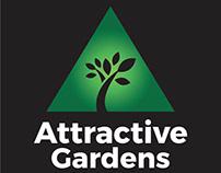 Attractive Gardens Leeds branding