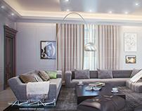 Living room Neoclassic