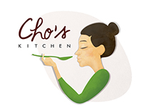 CHO'S LOGO & PACKING DESIGN
