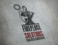 Branding & collateral design for Fireplace Solutions