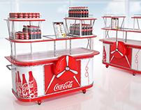 Coca Cola airport kiosk