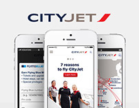 CityJet - Mobile application