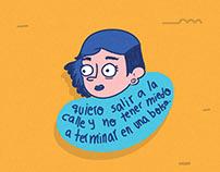 """Dibujos """"Día internacional de la mujer"""""""