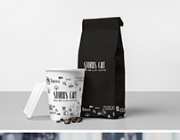 Stories Cafe - Brand Identity (typography)