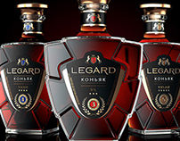 LEGARD is a Ukrainian brandy with a French background