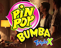Pin Pop Bumba Triple X