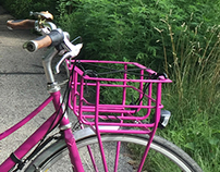 Custom Front Bicycle Basket