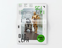 Corporate Identity for Sci-Fi Cinema - SCI-FI//BIO_CPH