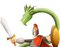 Knight & Snake