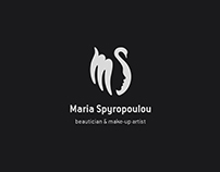 """Maria Spyropoulou"" [Brand Identity]"