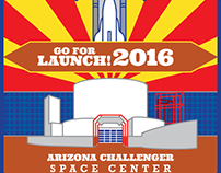 Go for Launch! Arizona - patch design