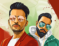 Ludo - Poster Design (Tony Kakkar Ft Young Desi)