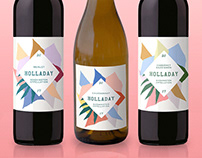 Holladay Wine Labels