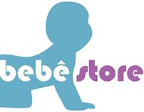Website Bebê Store.