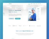 Vital Vio Home Page Redesign