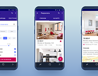 Real Estate Search App Concept for Android