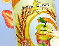 Nutriclean flash new label design