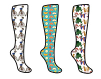 Socks designs
