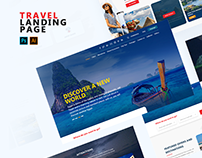 Travel Agency | Landing Page