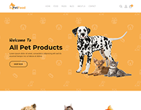 PetFood - Pet Sitter, Pet Shop, Animal Care Shopify