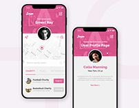 Innovative Dating / Networking App UI