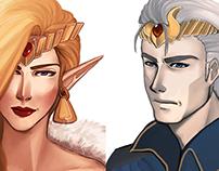 Rey & Reina / Diseño de Personaje (2013)
