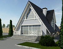 Villa project in Sheki
