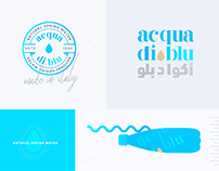 Acqua Di Blu — Brand identity & Packaging